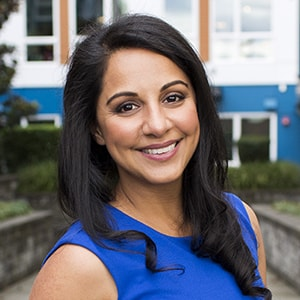 Shafeena Chatur, DDS, WSSO President, Seattle - actual client at Straight Wire Consulting